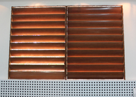 Mobilizable Profile Aluminum Sun Shade Louver System with Foaming Filler Material