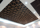 Imitation Wood Like Metal Grid Ceiling / Various Optional Wooden Color Available